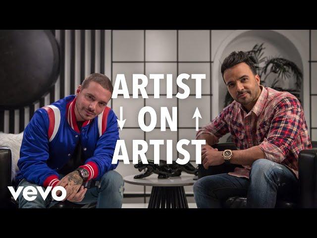 Luis Fonsi, J Balvin - Artist on Artist: Luis Fonsi Sits Down With J Balvin (Part 1)