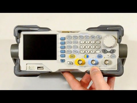Распаковка генератора сигналов Rigol DG1032Z (DG1000Z)