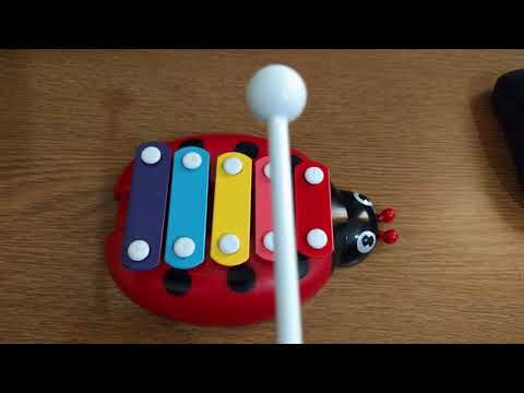 5 Tones Hand Knock Piano Play xylophone Toy
