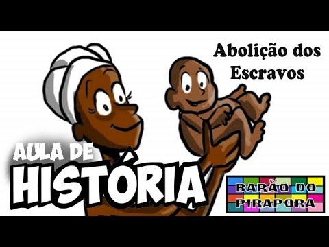 Aprendendo com Videoaulas:  História: Abolição dos Escravos