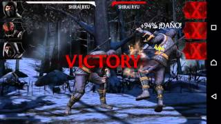 Mortal Kombat X Android - Let's play Español Android #1