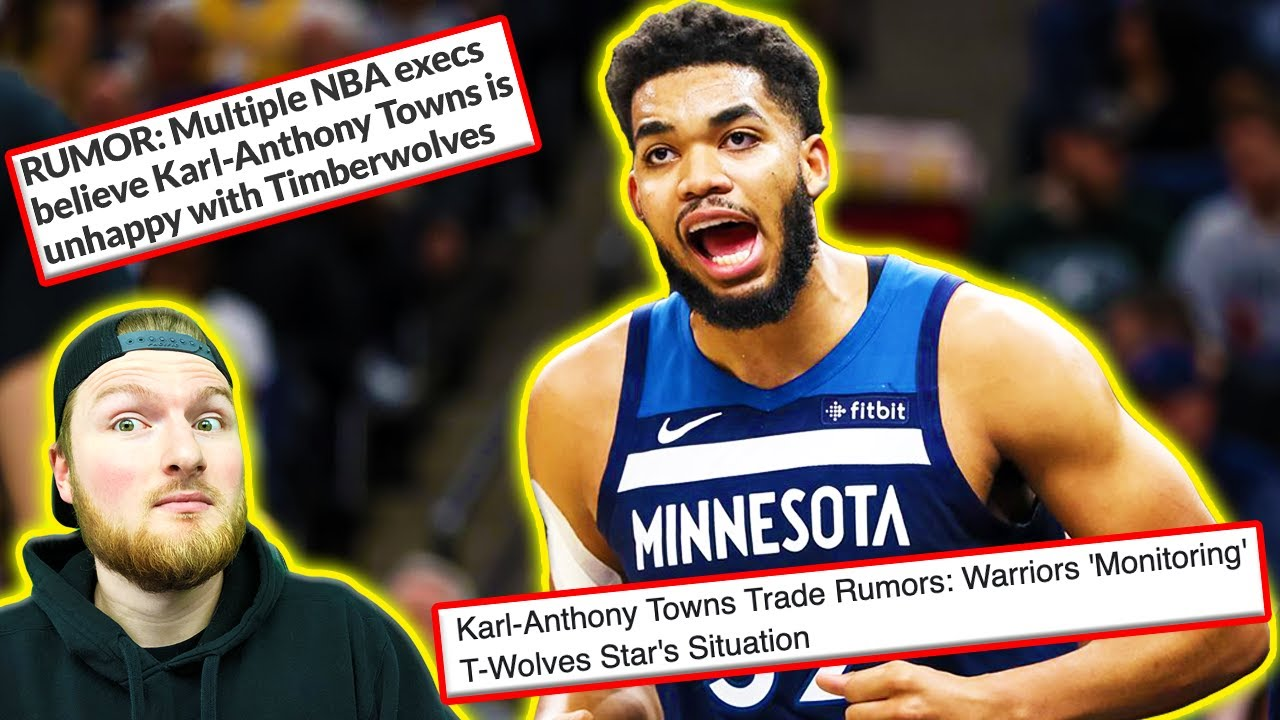 Karl-Anthony Towns to the Trail Blazers trade rumors have begun