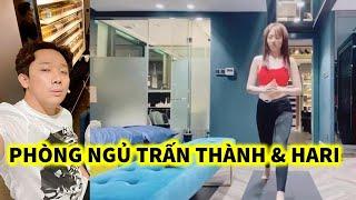 Hé Lộ Phòng Ngủ Của Trấn Thành và Hari Won trong nhà mới 20 tỷ
