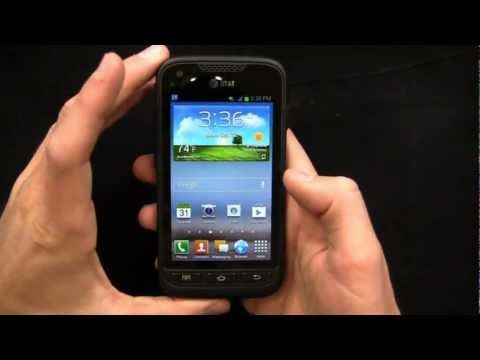 Samsung Galaxy Rugby Pro Unboxing