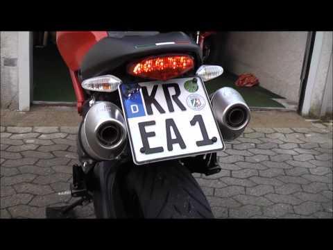 Ducati Monster 696 Leo Vince.wmv