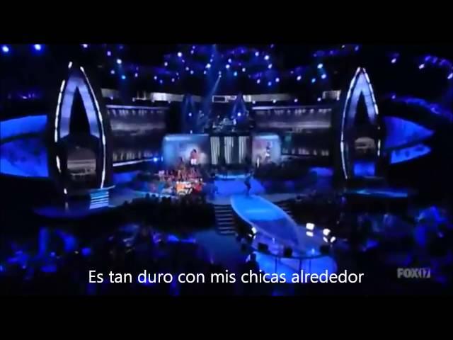 Miley Cyrus - Party In The USA LIVE subtitulado al español