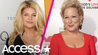 Kirstie Alley Calls Bette Midler's Controversial Trump Tweet 'Most Racist, Degrading Jokes'