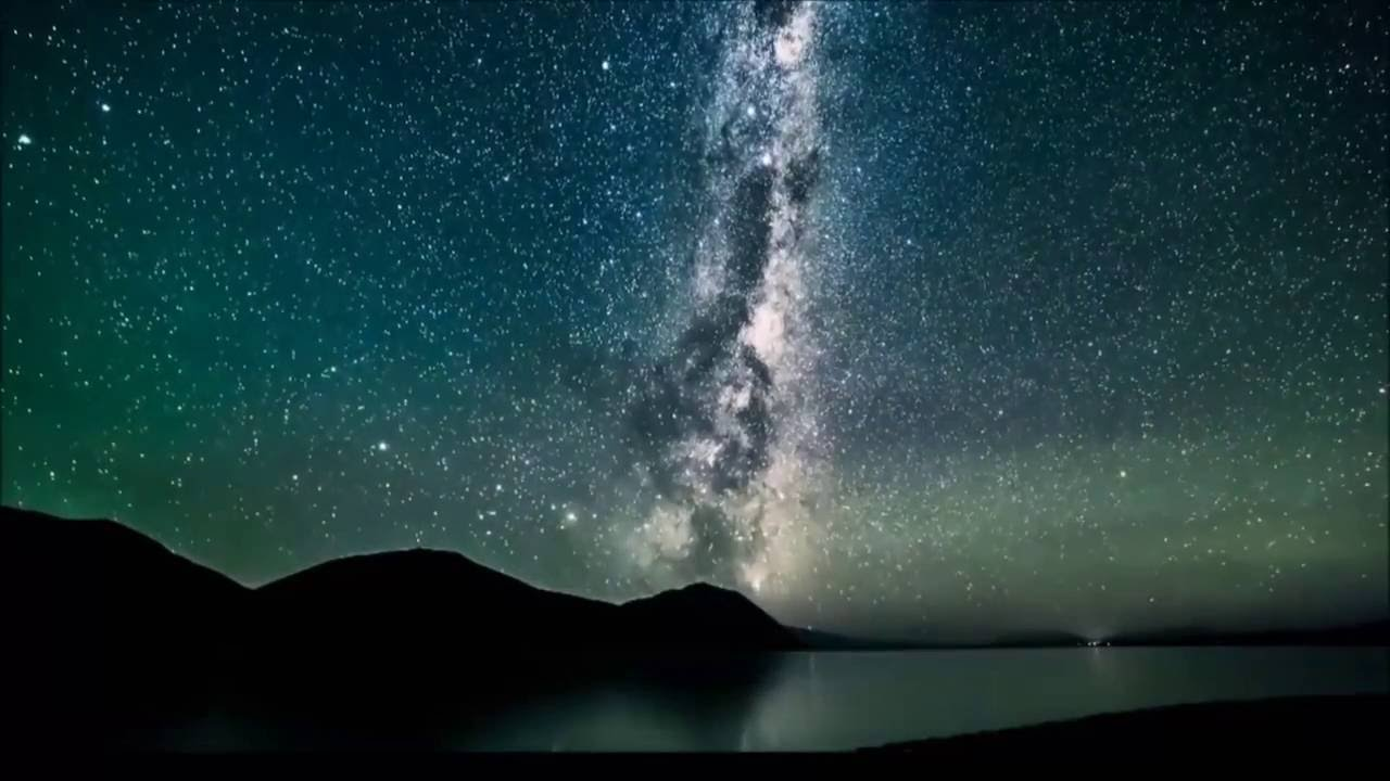 HD Timelapse of Milky Way Galaxy in Day and Night As