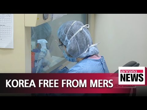 S. Korea officially free from MERS as of Monday midnight