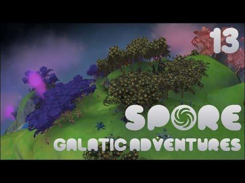 Spore! Galactic Adventures #13 - Slugs at the Space Port!