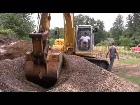 Montz Excavating - Digging A Well