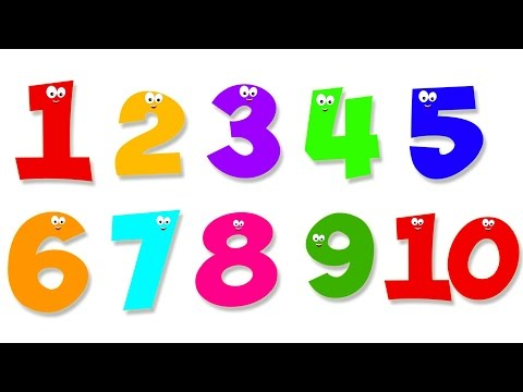 Number Song | Numbers Counting 1 to 10 | Ten Little Numbers | Numbers