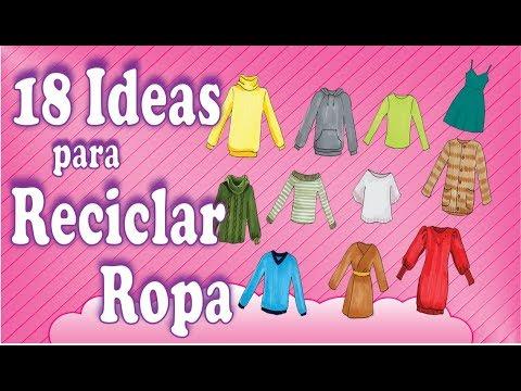 18 Ideas para reciclar tu ropa Facilisimas!!!