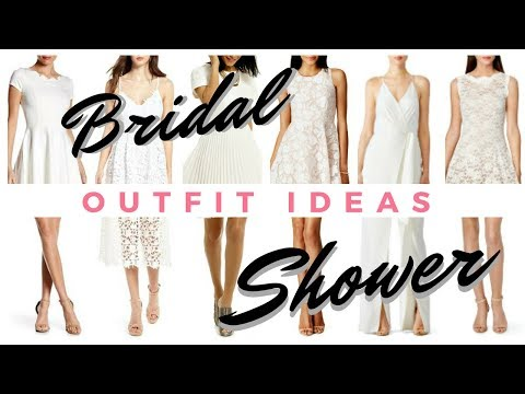 What to Wear to Your Bridal Shower    ONLINE SHOP WITH ME!    If The Veil Fits