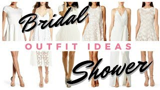 What to Wear to Your Bridal Shower || ONLINE SHOP WITH ME! || If The Veil Fits