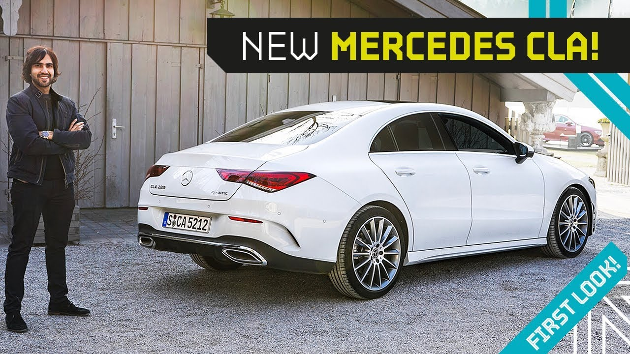 New CLA is a CLS killer! PLUS the AMG 35 and 45S! - YouTube