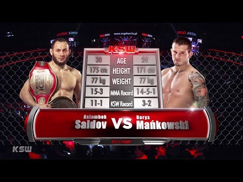 KSW Free Fight: Borys Mańkowski vs Aslambek Saidov | KSW 51