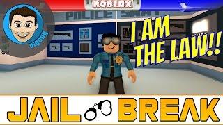 Roblox: Jailbreak : #2 : Première fois en jouant comme la police! Pause de prison