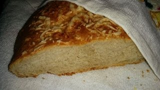 Cырный хлеб - косичка, рецепт
