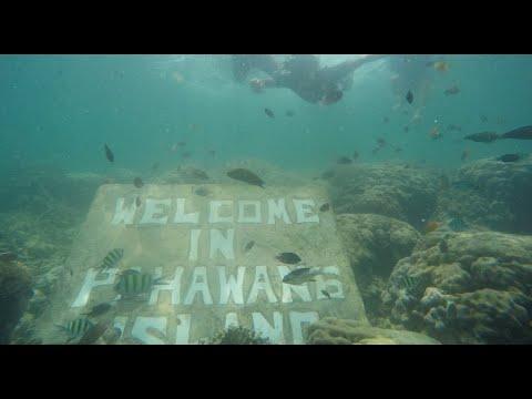 Video: Jalan-jalan ke Pulau Pahawang dan Pulau Kelagian, Pesawaran, Lampung
