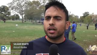 Voice of America: New York's Ahmadiyya Muslims organize charity Walk