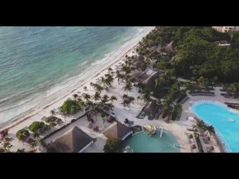 4k Drone Footage of Riviera Maya, Mexico