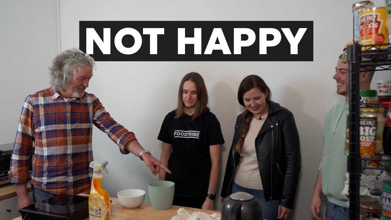 James May is furious about the state of the bunker kitchen