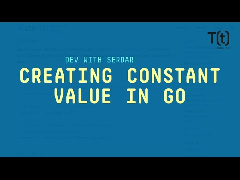 Creating constant values in Go with the const keyword   Smart Go
