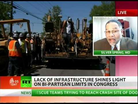 Dr. Leon on RT TV Topic: US Infrastructure Crumbling