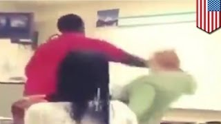 Student pobił nauczycielkę na zajęciach!