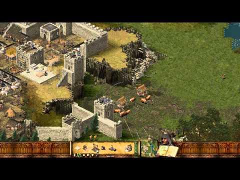 """Lets Play Stronghold Deutsch Teil 18 """"Alte vs neue Burg"""""""