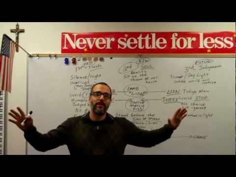 Never Settle Series - The Threefold Visit of Christ