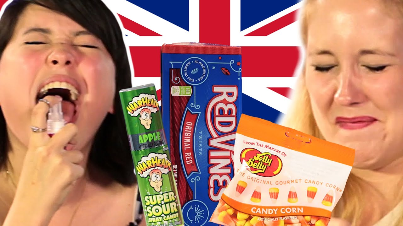British People Trying American Candy - In The Kitchen With ...