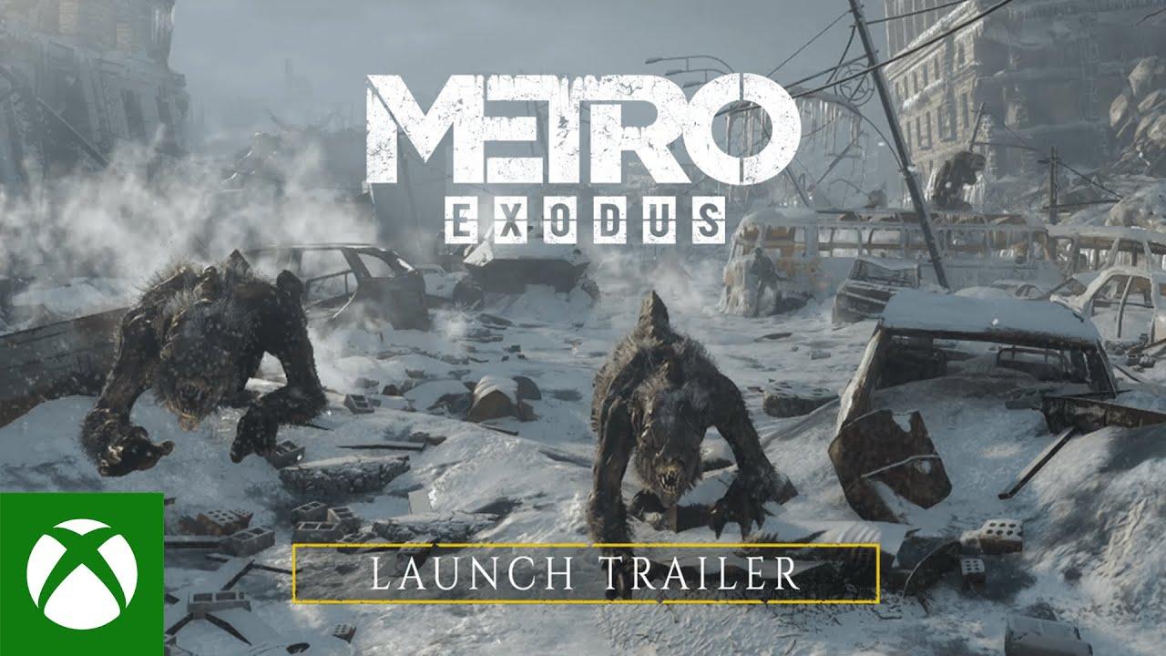 Metro Exodus - Xbox Series X S Launch Trailer