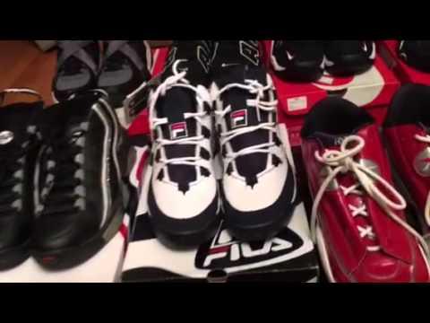 a00269f99c02 Retro Shoe (kicks) collection video fila