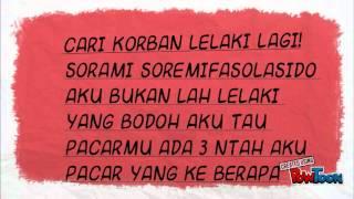 Stand Here Alone - Korban Lelaki ( Lyrics)
