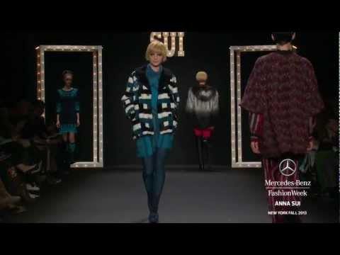 ANNA SUI: MERCEDES-BENZ FASHION WEEK FALL 2013 COLLECTIONS