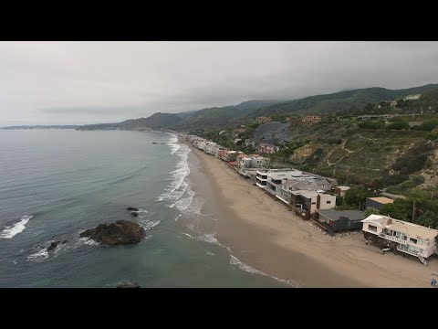 DJI Phantom 4 First Flight - Malibu Beach