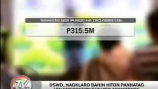 TV Patrol Tacloban - November 25, 2014