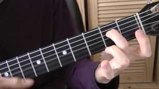 Cours de guitare - John LENNON : Jealous Guy (2/6) Couplet (2ème moitié)