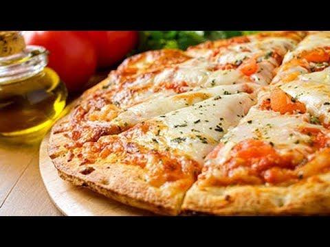 صورة  طريقة عمل البيتزا طريقة عمل احلى واسهل بيتزا في الميكروويف في دقيقتين بس pizza طريقة عمل البيتزا من يوتيوب
