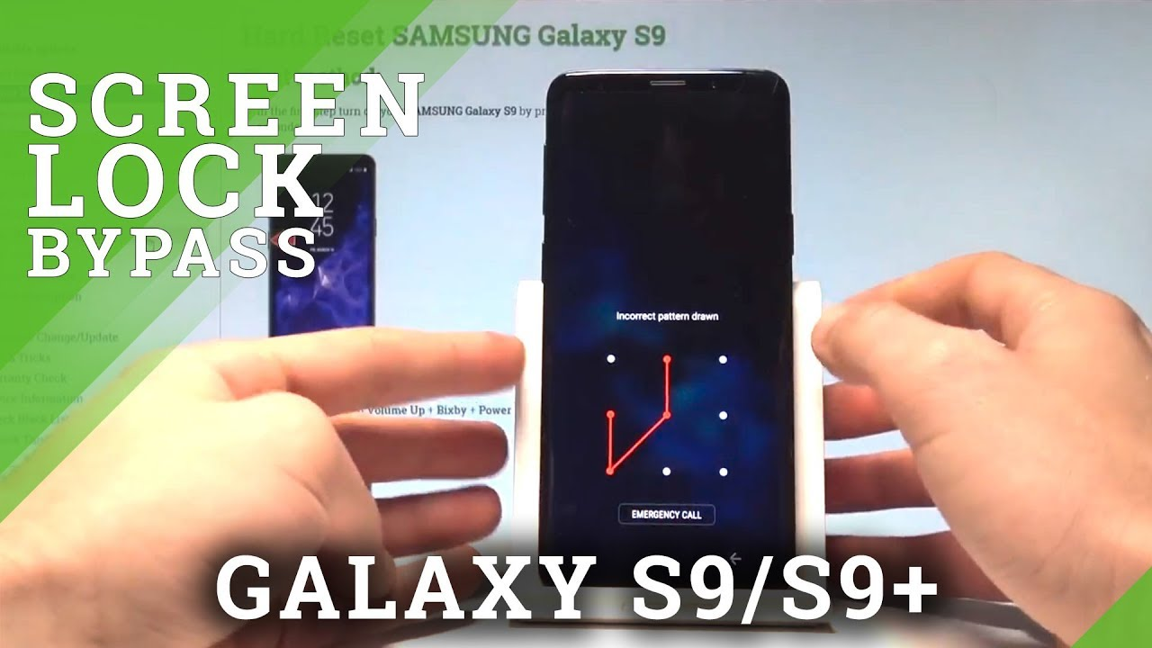samsung s9 how to change lock screen