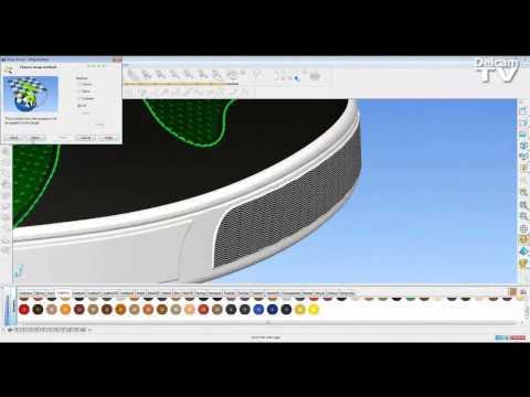 3D Shoe Design Software - Model Upper and Sole Together