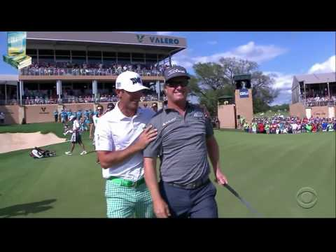 Champion Charley Hoffman's Awesome Golf Shots 2016 Valero Texas Open PGA Tournament