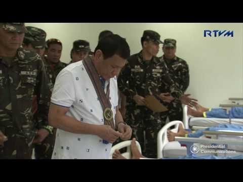Visit to Wounded-in-Action (WIA) Soldiers 10/31/2016