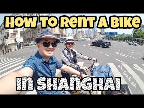 How to rent OFO Bike in Shanghai - Travel tips Myfunfoodiary