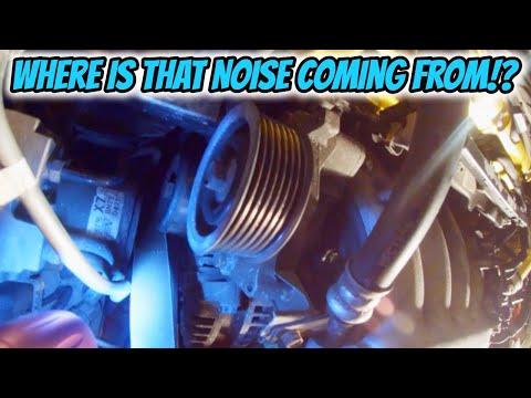 Diagnosing A Bad Pulley / Serpentine Belt   06-11 Honda Civic Si