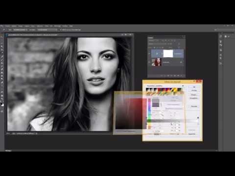 01- Photoshop - Conversion en noir et blanc et touche de couleurs tendance