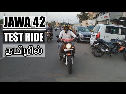 JAWA 42 Bike | Test Ride (Performance, Road Test) | Tamil(தமிழ்) | B4Choose