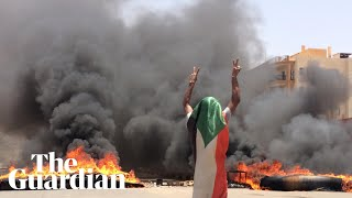Sudanese military cracks down on protesters